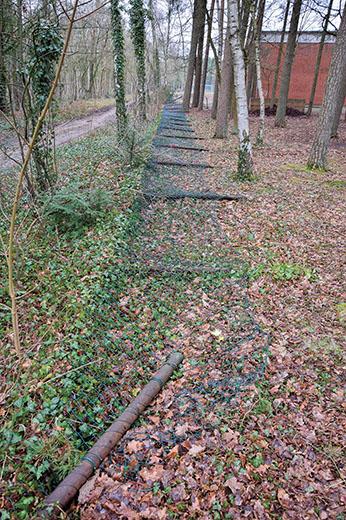 Zaun der Waldschule