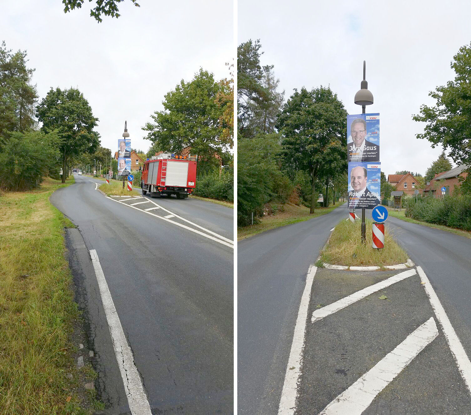 SPD-Bürgermeister entfernt widerrechtlich Plakat der CDU