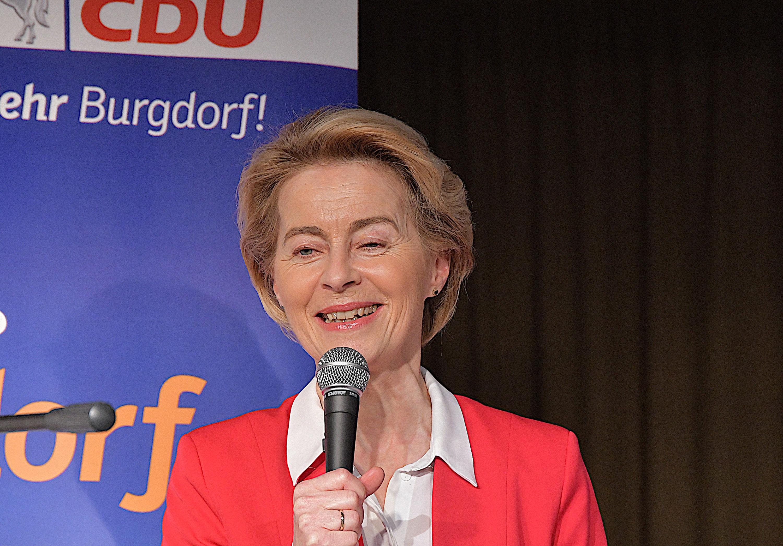 Ursula von der Leyen auf Neujahrsempfang der CDU Burgdorf