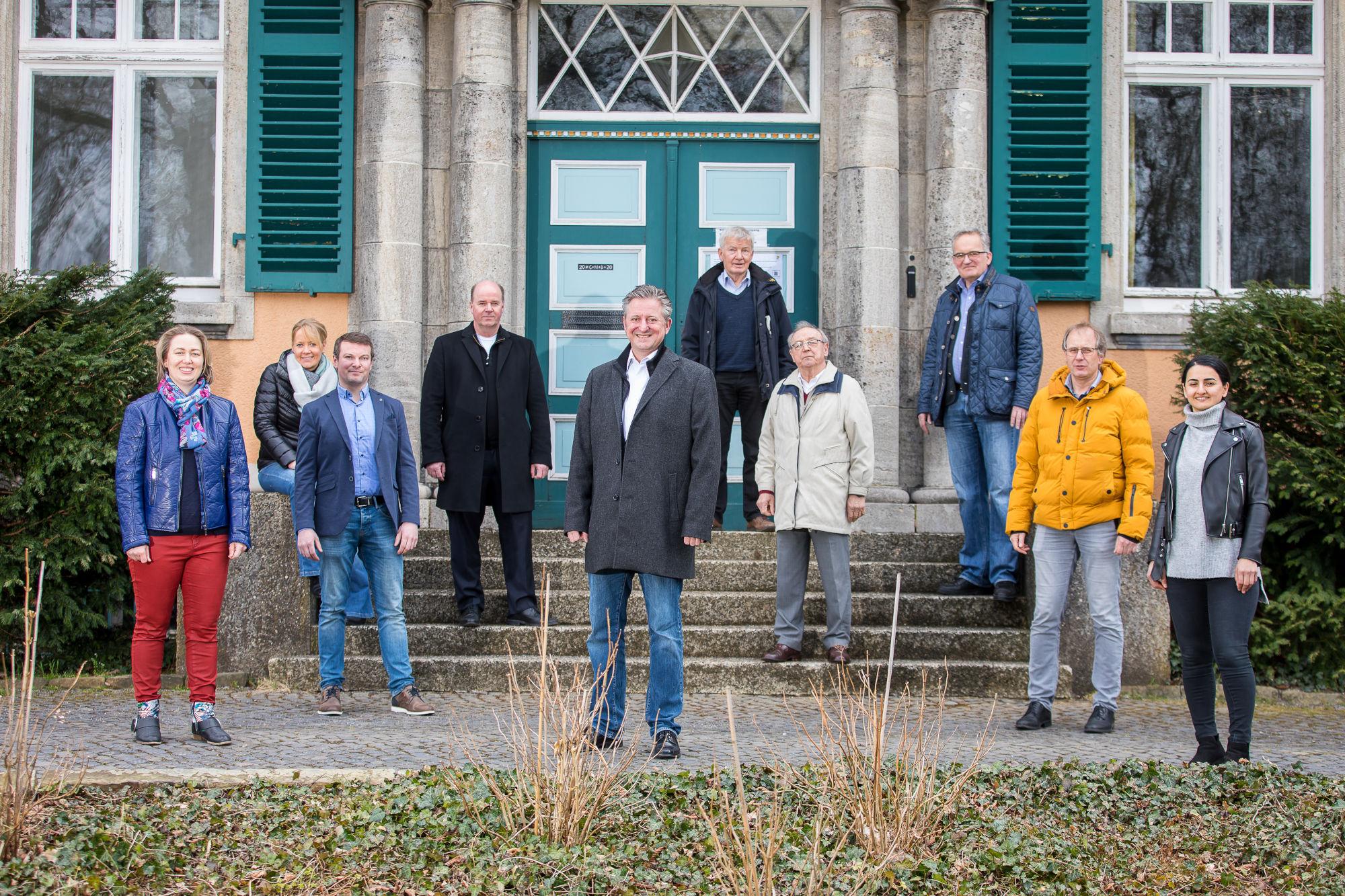 CDU Vorstand 2021 Gruppenfoto